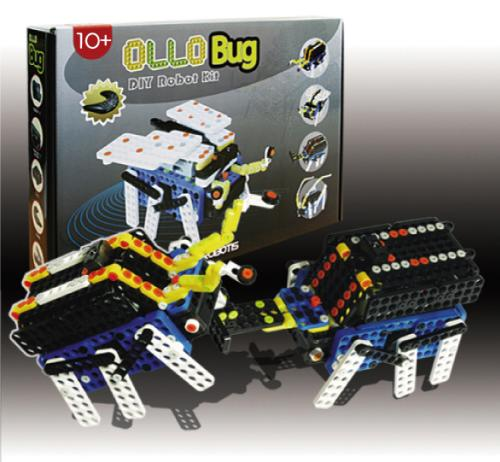 Ollobot robot construction kit